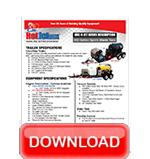 Vacuum Drain Line Jetter Data Sheet