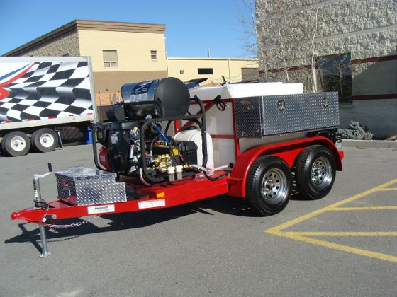 Trailer Mounted Jetter - Hot Water