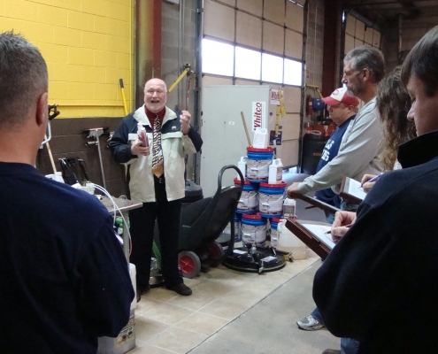 Jetter Training includes In Class Instruction