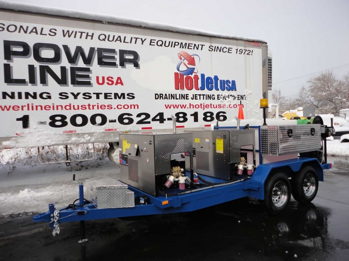 XtremeFlow III - Dual Engine Cold Water Jetter