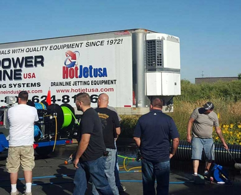 Hands On Jetter Equipment Training