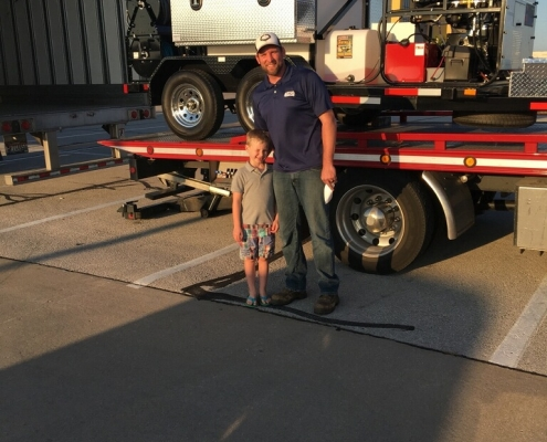 Josh from Torch Services receives his HotJet II