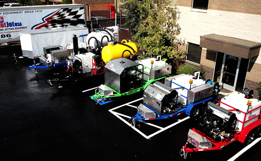 jetter lineup trailer jetters for sale trailer mounted sewer jetters US Jetting Logo at fashall.co