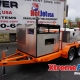 Xtreme Flow Diesel Cold Water Jetter Orange