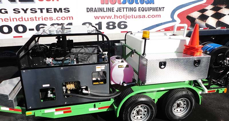 Large Body Cold Water Diesel Jetter