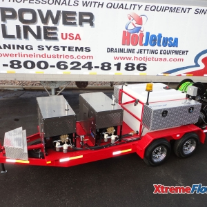 Dual Engine XtremeFlow III Cold Water Jetter