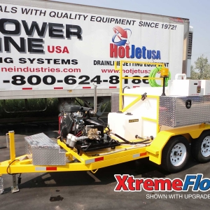 XtremeFlow I Cold Water Jetter (shown with upgrades)