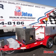 XtremeFlow II Cold Water Trailer Mounted Sewer & Drain Line Jetter