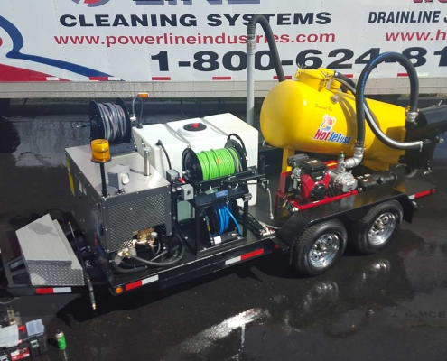 Vac 'n Jet Drain Line Jetter and Vacuum custom built for Vandenberg Air Force Base
