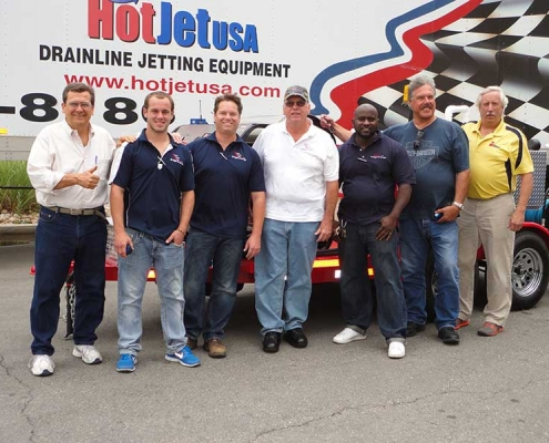 Jetter Equipment Training Workshop Graduates