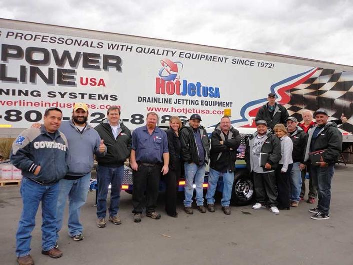 Jetter Equipment Training Workshop Graduates