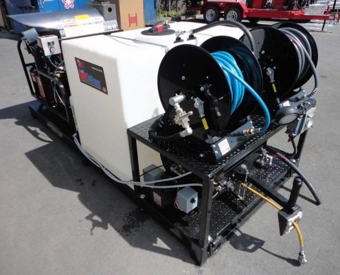 Skid Plate Jetter HotJet 2 Backside