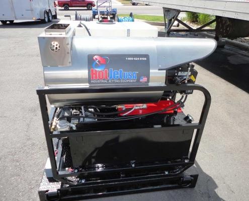 Skid Plate Jetter HotJet 2 Heater