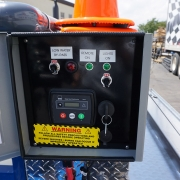 Cold Water Diesel Trailer Jetter Control Box