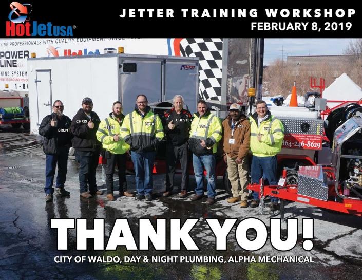 Jetter Training Workshop February 8, 2019