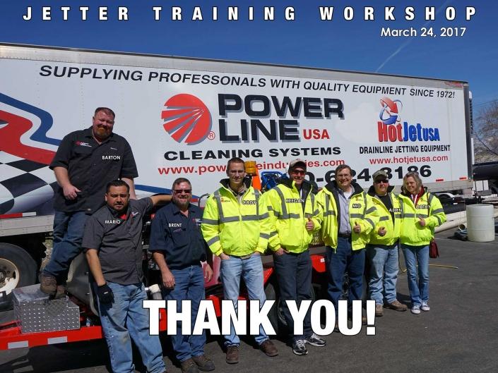 Jetter Training Workshop March 24, 2017