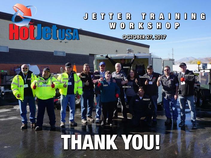 Jetter Training Workshop October 27, 2017