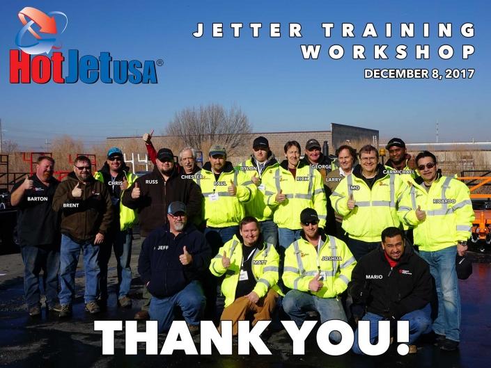 Jetter Training Workshop December 8, 2017