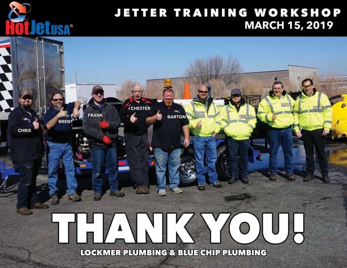Jetter Training Workshop March 15, 2019