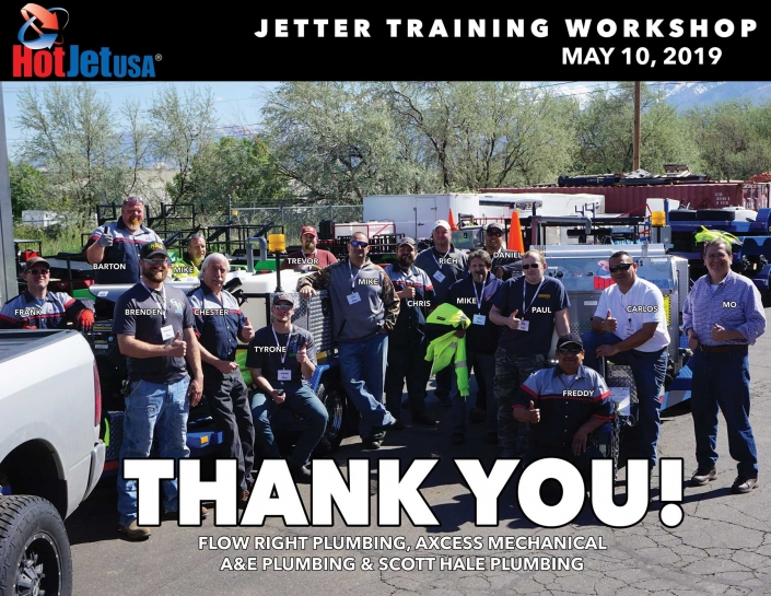 Jetter Training Workshop, May 10, 2019