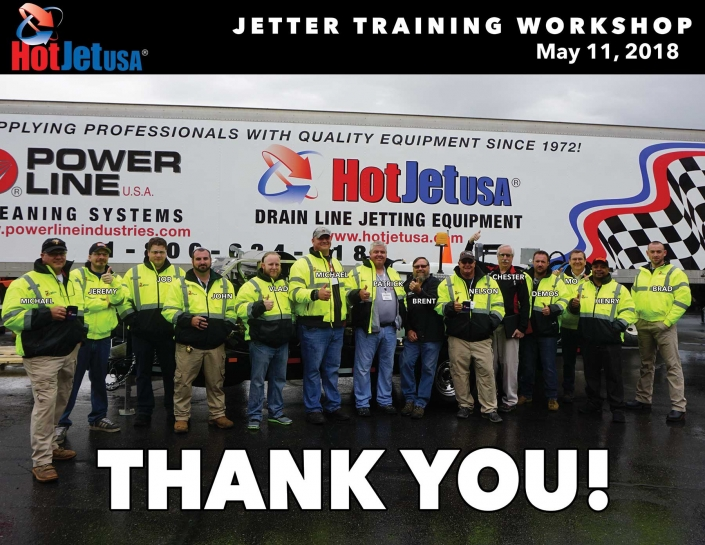 Jetter Training Workshop May 11, 2018