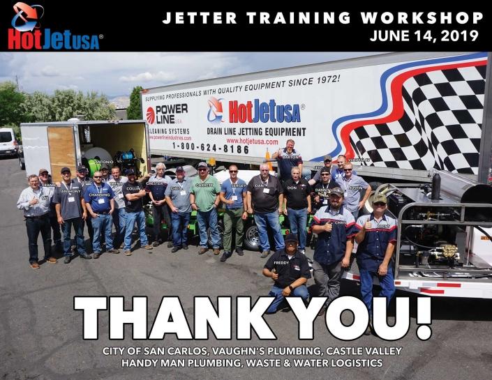 Jetter Training Workshop, June 14, 2019