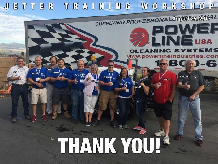 Jetter Training Workshop August 25, 2017