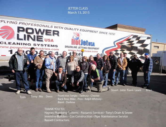 Jetter Class March 13, 2015
