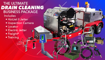 Hot Jet USA Ultimate Drain Cleaning Package