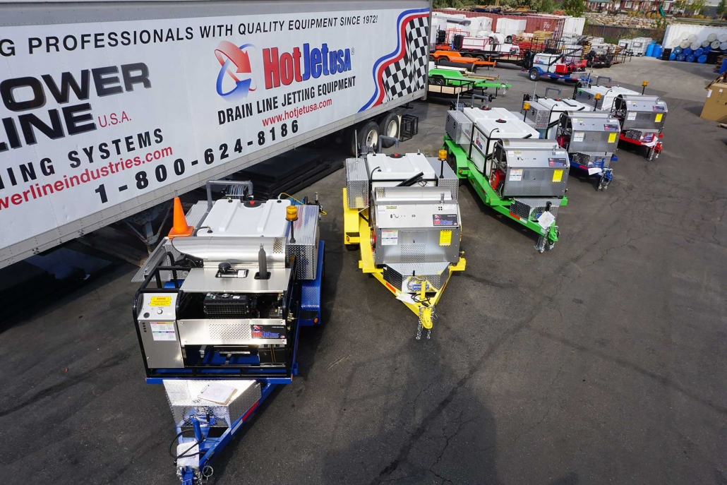 Hot Jet Jetter Lineup