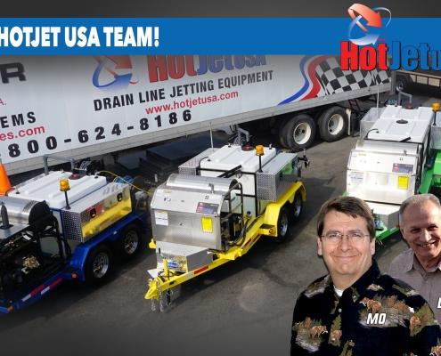 Meet the HOTJET USA Team - Mo, Don, Chester